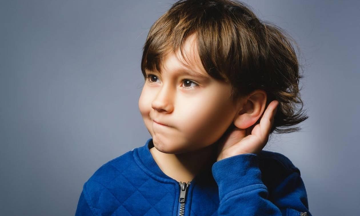 Πότε χρειάζεται έλεγχο η ακοή του παιδιού